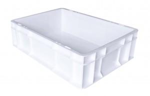 Caisse alimentaire C2 Blanc sans couvercle