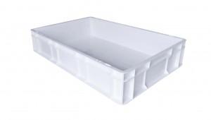 Caisse alimentaire C4 Blanc sans couvercle