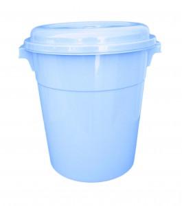 Poubelle 40 L couleur bleu