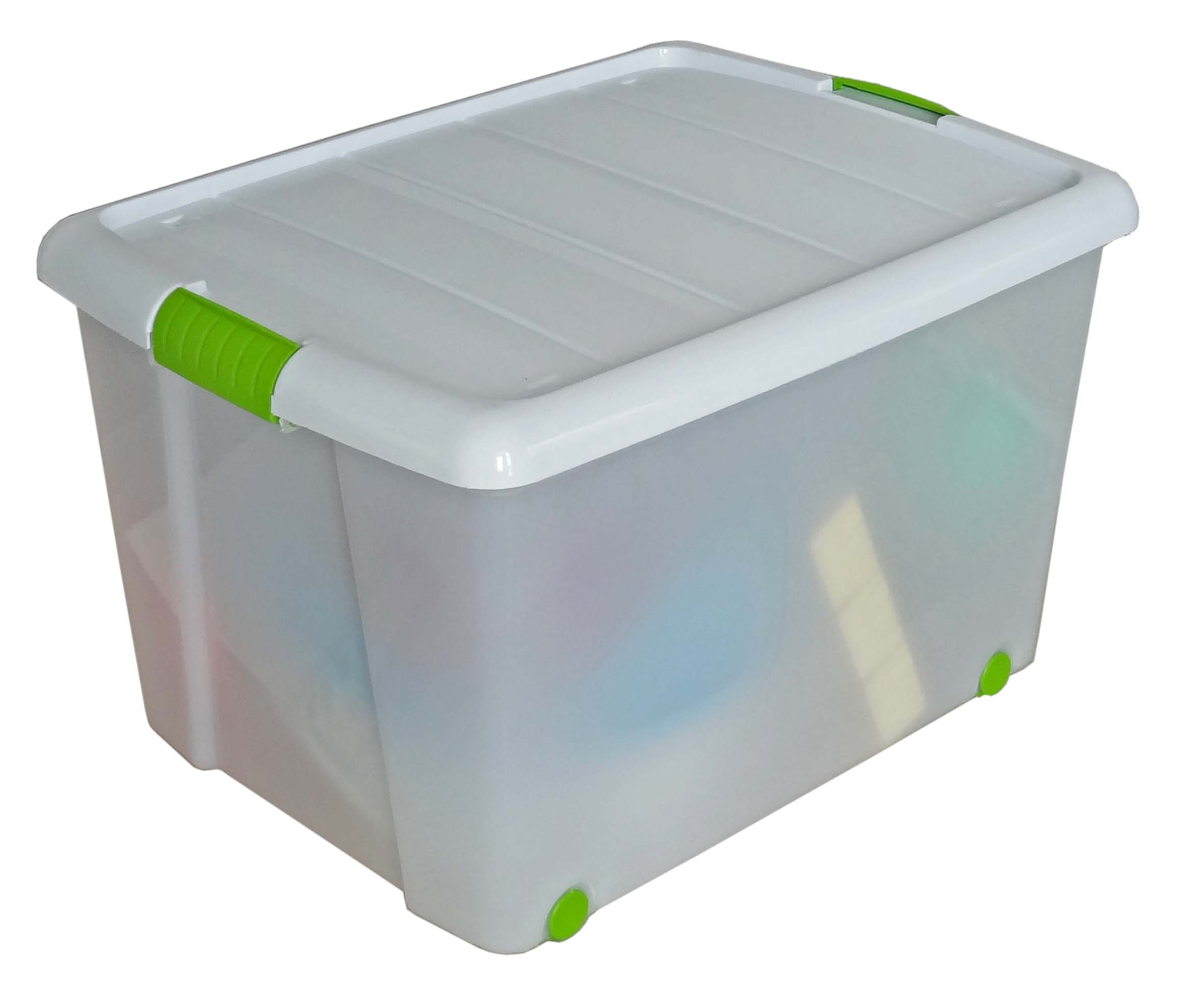 Boite de rangement avec couvercle 65 l elso plast - Boite de rangement avec couvercle ...