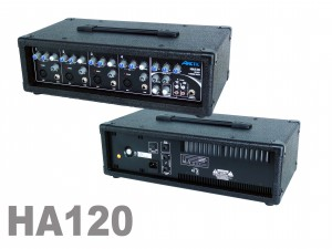 Ampli mixeur 4 entrées 120 Watts