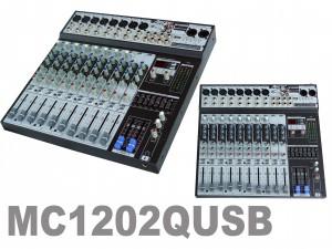 Table de mixage 12 entrées USB