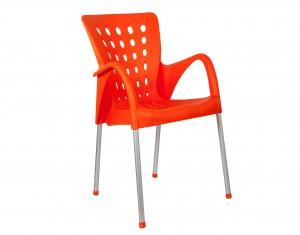 Fauteuil Pilote orange