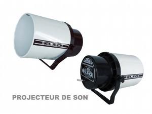 Projecteur de son
