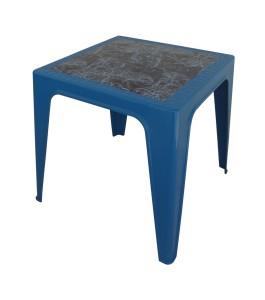 Table Monobloc 60x60x60 bleu