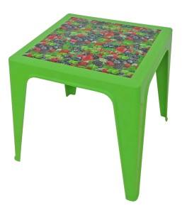 Table Monobloc 60x60x60 vert